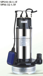 Qdx Stainless Steel/ Cast Iron Submersible Pump (QDX8-28-1.1) pictures & photos