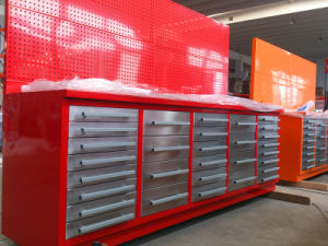 Tool Boxes Drawer Storage Cabinets Steel Garage Workbench pictures & photos