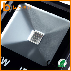 Aluminum Warm White 30W IP67 COB Flood Lamp Slim LED Floodlight pictures & photos