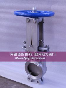 Low Pressure Knife Gate Valve with Non Rising Stem pictures & photos