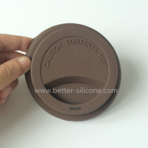 Durable Silicone Plastic Cups Lids for Drinking pictures & photos