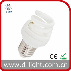 5W 7W E27 T2 Full Spiral Compact Fluorescent Light Bulb pictures & photos