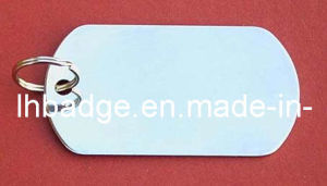 Name Tag, Dog Tag, Military Tag, Pet ID with Laser Engraved Logo