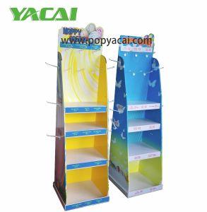 Point-of-Sale Display for Retail, Paper Display Stand, Pop Cardboard Display, Floor Standing Display Unit, Dumpbin Display pictures & photos