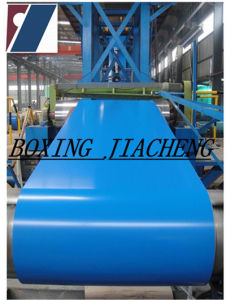 PPGI/Seablue Prepainted Steel Coil, Color Coated Steel Coils (PPGI007-34)