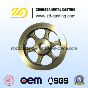 OEM Brass Casting Sand Casting Flywheel with Machining pictures & photos
