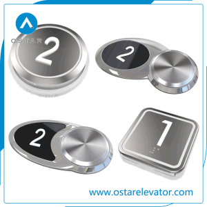 Push Button Switch, Passenger Elevator Push Buttons pictures & photos
