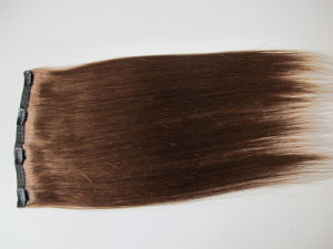 European Straight Human Remy Hair Clip in Extensions Hhci-26 pictures & photos
