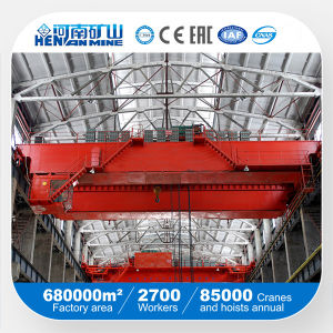 5t 10t 20t 30t 40t 50t 100t Rail Mounted Double Girder Overhead Crane pictures & photos