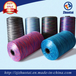 High Quality 100% Polyester Space Dyed Yarn Knitting pictures & photos