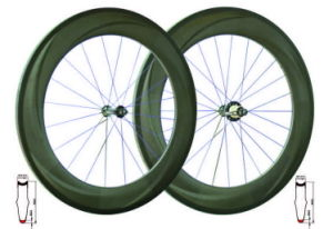 Tubular Road Wheels (WB-TWH-005B-3K-SH)