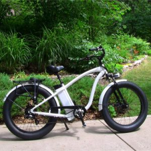 26inch Fat Tire 4.0 500W Snow Ebike pictures & photos