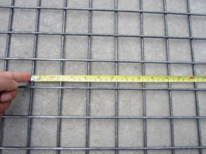 "Opening 2""X2"", Plain Wire, Welded Wire Mesh Panel pictures & photos"