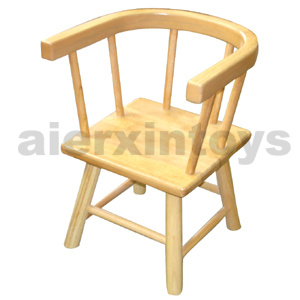 Wooden Children Chair in Solid Rubber Wood (81440-81441) pictures & photos