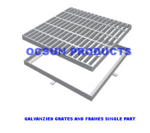 Galvanzied Grates and Frames Light Duty pictures & photos