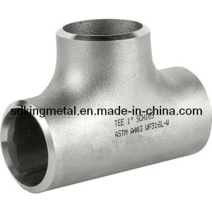 Seamless Stainless Steel 304L Equal Tee pictures & photos