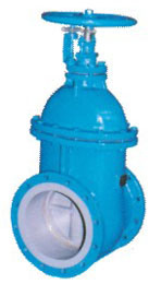 Ductile Iron BS5163 Metal Seated Sluice Valve