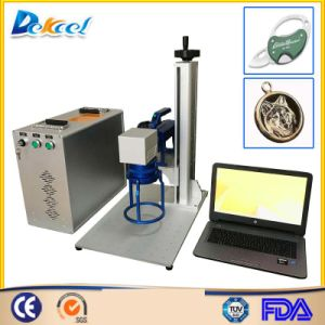 Metal Laser Engraver Machine 20W Fiber Laser Marking System pictures & photos