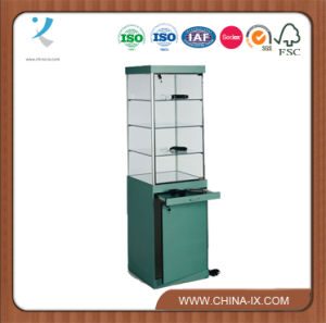 Optical Display Case with Locking Doors Adjustable Shelves pictures & photos