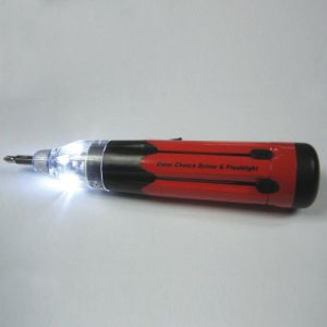 Thumb′s up LED Clear Choice Screwdriver (TUDCCLED)