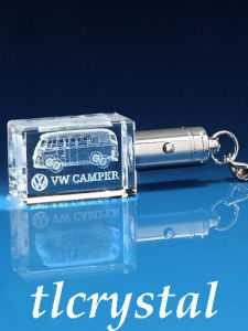 Crystal 3D Laser-Crystal Key Chain (TL09073108)
