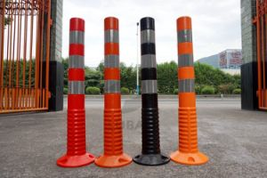750mm Flexible PU Warning Post pictures & photos