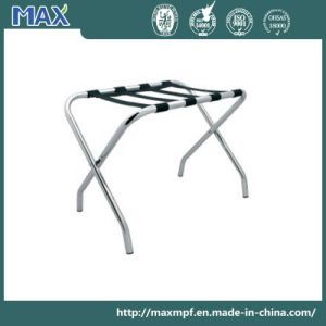 Hotel Room Stainless Steel Luggage Rack for Five Star Hotels pictures & photos
