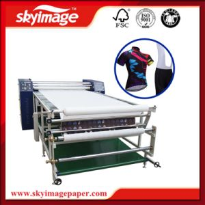 600*1900mm Roller Drum Rotary Heat Transfer Machine for Curtains pictures & photos