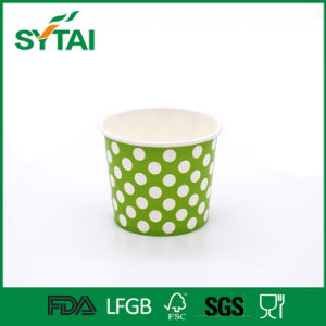 Custom Printed Double PE Coated Various Sizes of Ice Cream Paper Cup pictures & photos
