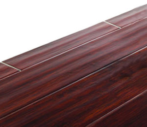 Handscraped Horizontal Bamboo Flooring Red Cherry pictures & photos