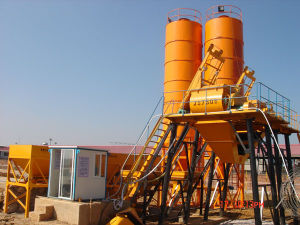 Hzs35 Concrete Batching Plant pictures & photos