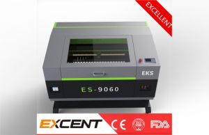 Wood Acrylic Nonmetal of New Top Quality of CO2 Laser Cutting and Graving Machines Es-9060 pictures & photos