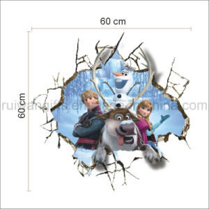 Removable Cartoon Frozen Character Wall Stickers for Kids pictures & photos