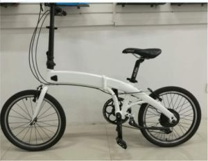 "Electric Folding Bike Bicycle with 20"" Wheels pictures & photos"