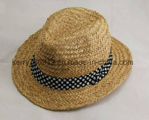 Wholesale Custom Cheap Fashion Mens Cowboy Straw Hat Dh-Lh7211 pictures & photos