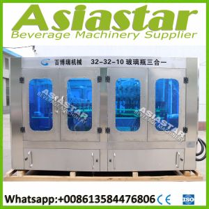 Automatic Small Glass Bottle Beer Liquid Filling Packaging Plant pictures & photos