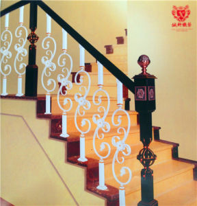 European Fashion Household Building Materials Wrought Iron Stair Fence pictures & photos