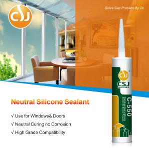 Fast Curing Neutral Silicone Sealant for a Wide Range of Aluminum Doors and Windows pictures & photos