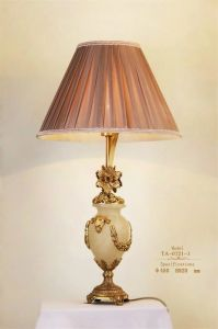 Factory Price Wholesale Brass Ceramics Desk Lamp (TA-0721-1) pictures & photos