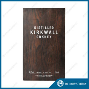 Customized Superior Wooden Box for Liquor Bottle (HJPWSB01) pictures & photos