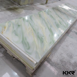 Translucent Wall Panel Resin Stone Solid Surface pictures & photos