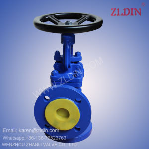DIN Std. J44H GS-C25 WCB PN16 Angle Type Globe Valve Stop Valve pictures & photos
