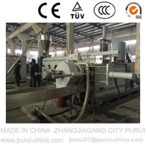 Waste Plastics HDPE Bottle Flakes Pelletizer Recycling Machine pictures & photos