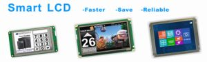 240X128 Graphic LCD Module COB Type LCD Display (LM240128C) Widely Used on Industrial pictures & photos