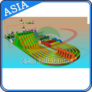 Race Wipeout Course Inflatable Tunnel Rental Inflatable Obstacle Course pictures & photos