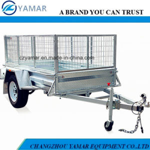 Hot Dipped Galvanized Farm Trailer pictures & photos