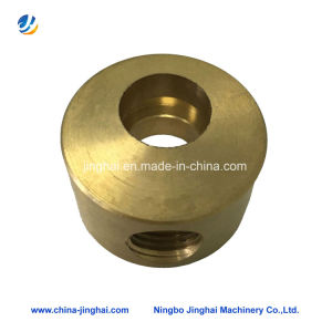 Customed High Precision CNC Machining Parts Copper Fittings pictures & photos