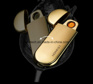 Custom Dual Arc Rechargeable USB Electric Pipe Lighter pictures & photos