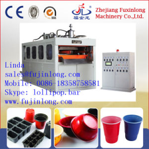 Automatic Plastic Cup Making Machine (FJL-660SB-C) pictures & photos
