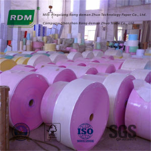 Jumbo Roll Carbonless Paper for Rotary Press pictures & photos